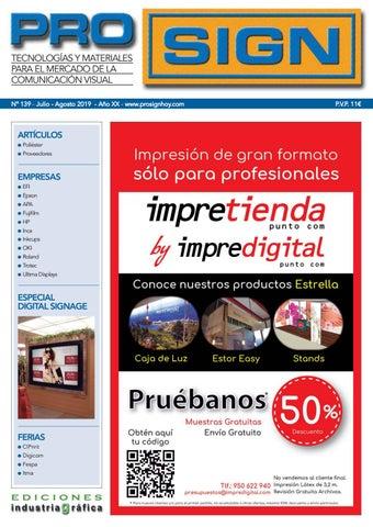 ef928b8738e1 Prosign 139 - Julio / Agosto 2019 by Ediciones Industria Gráfica - issuu
