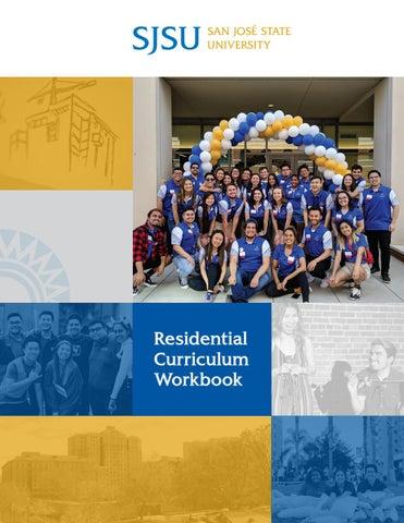 Sjsu Fall 2020 Registration.San Jose State University Residential Curriculum Workbook