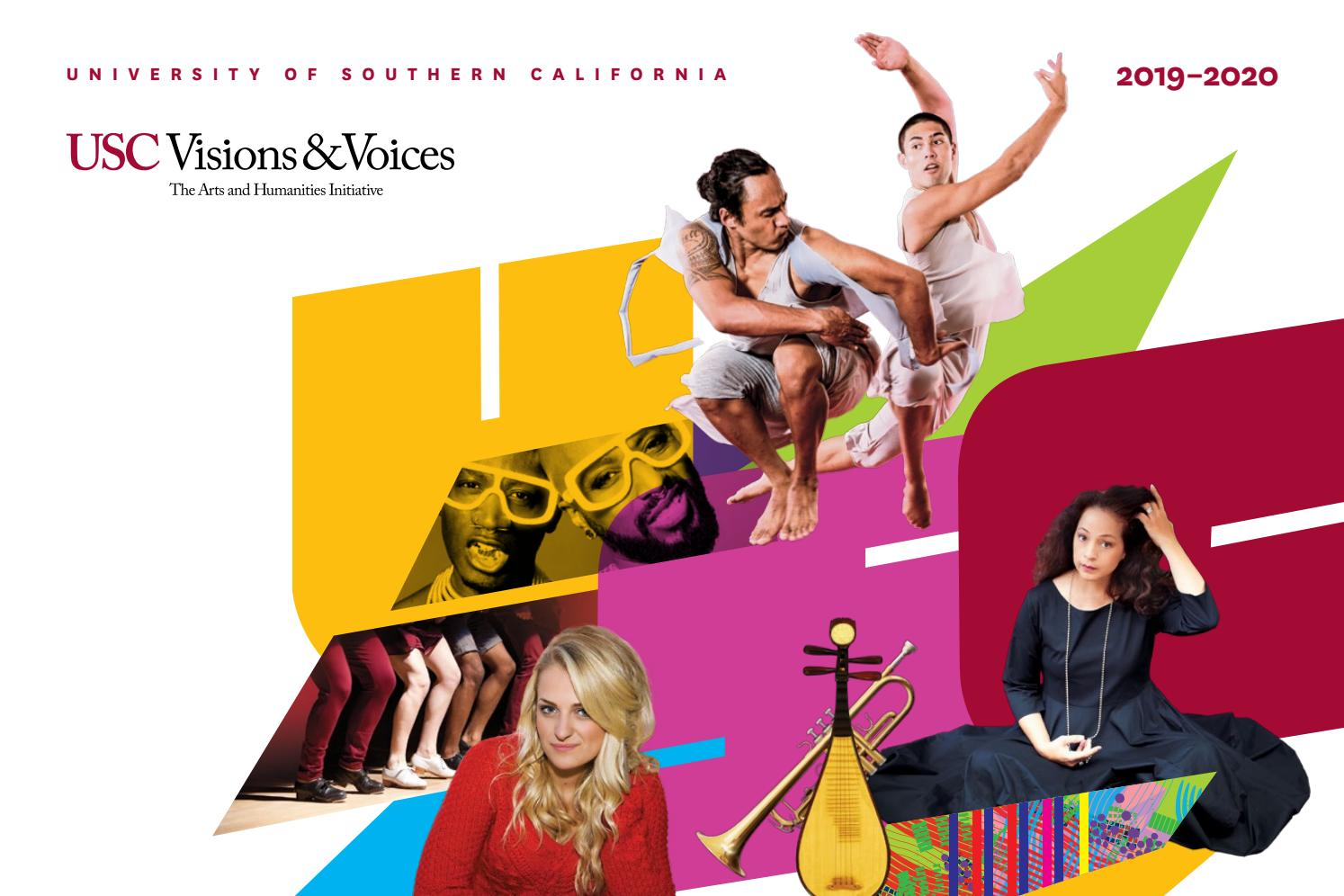 USC Visions & Voices 2019-2020 by University of Southern