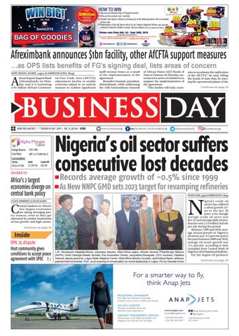 BusinessDay 09 Jul 2019 by BusinessDay - issuu