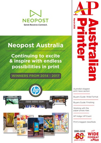 Australian Printer March 2018 by The Intermedia Group - issuu