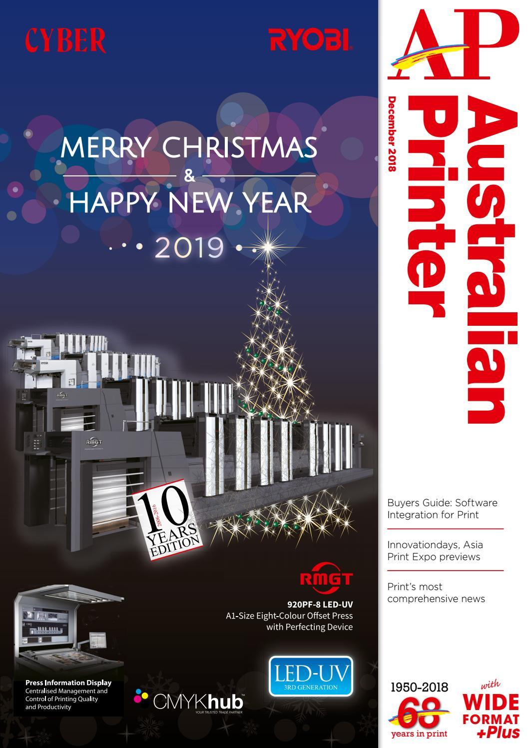 Australian Printer December 2018 by The Intermedia Group - issuu