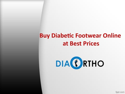 Buy Diabetic Footwear Online At Best Prices Footwear For