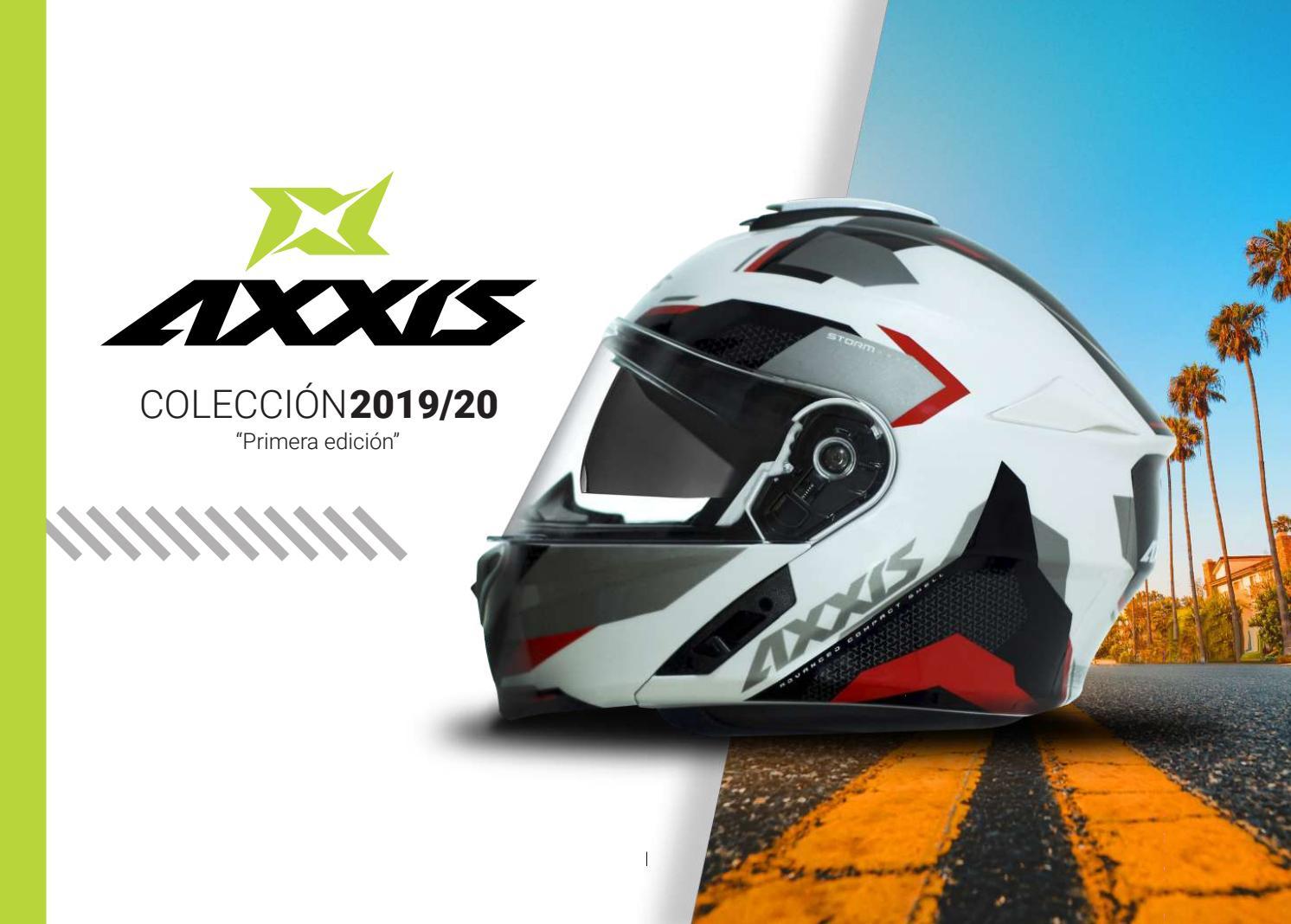 AXXIS CASCO FU406SV STORM SV SOLID A1 NEGRO BRILLO TALLA L