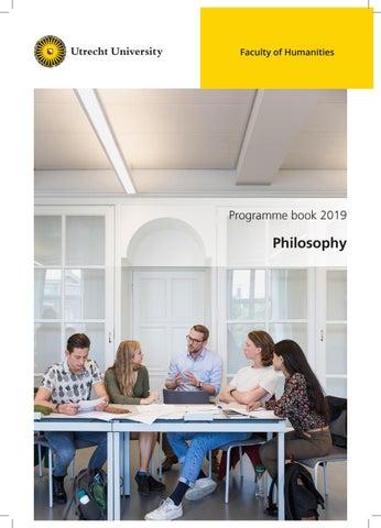 Programme Book RMA Philosophy 2019-2020 by HumanitiesUU - issuu