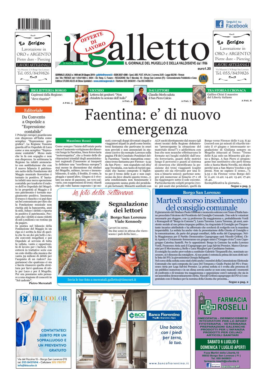 Svuota Appartamenti Gratis Firenze galletto 1409 del 29 giugno by il galletto giornale - issuu