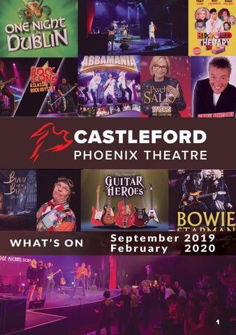 Phoenix Events February 2020.What S On At The Castleford Phoenix Theatre Sep 2019 Feb