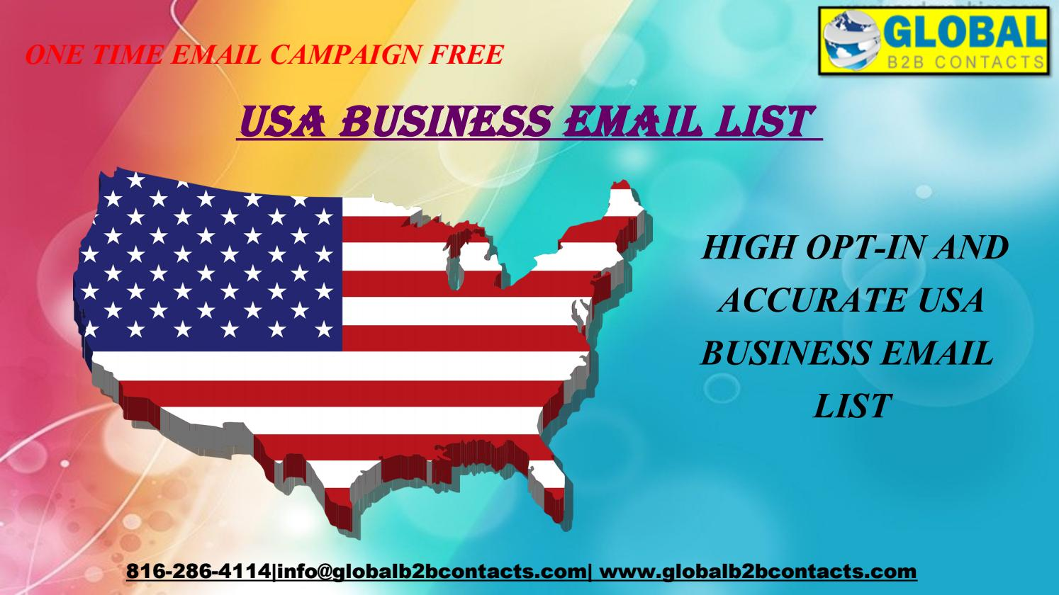 USA Business Email List by dylangloria99 - issuu