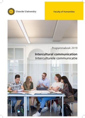 Programme book Master Intercultural Communication 2019-2020