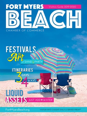 Neptune Festival 2020.Fort Myers Beach Visitors Guide 2019 2020 By Vector Ink