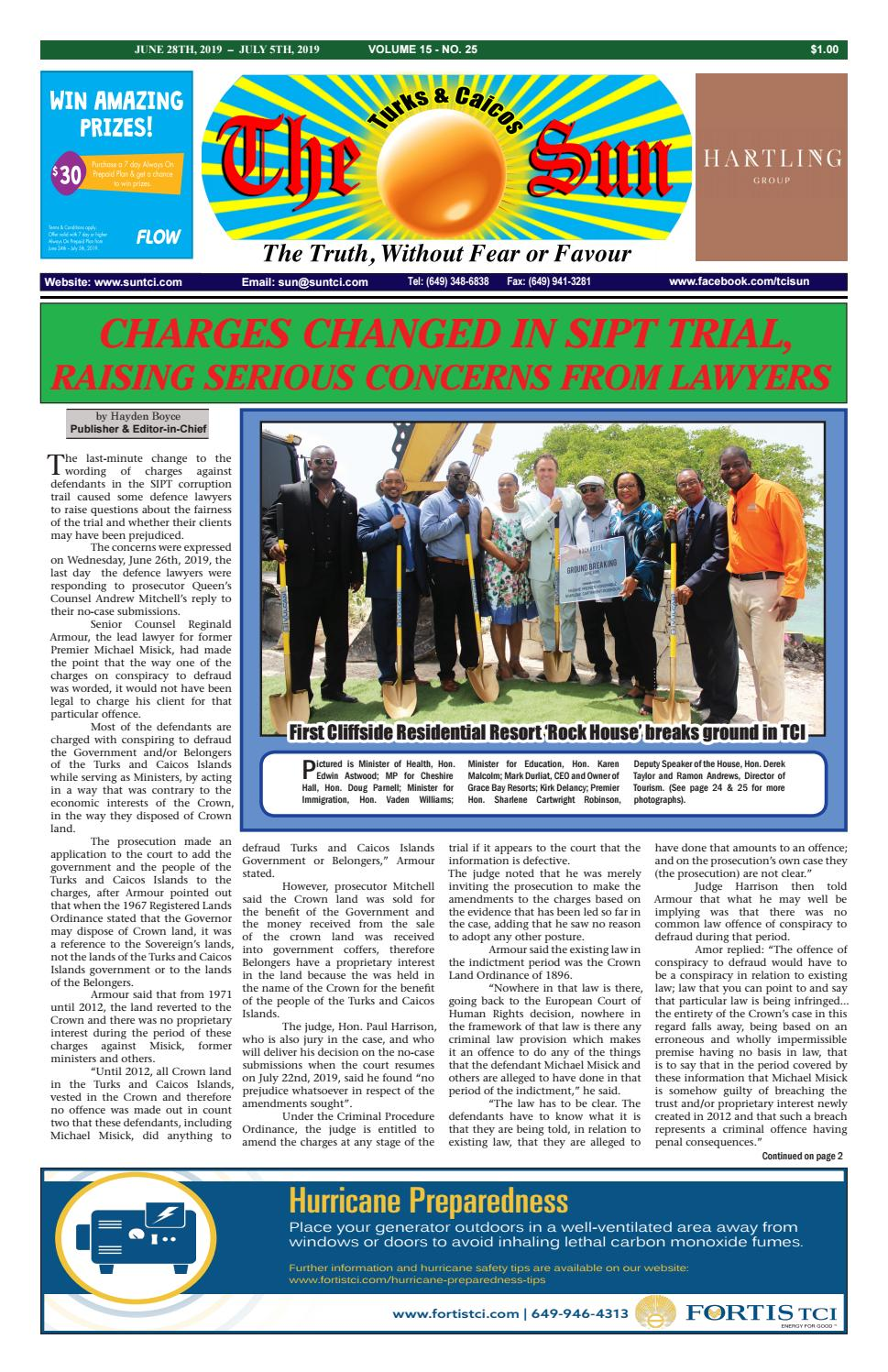 VOLUME 15 ISSUE 25 by The SUN Newspaper - issuu