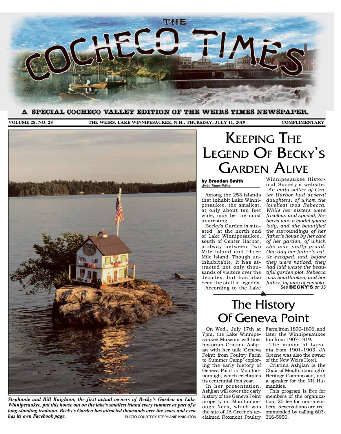 07/11/19 Cocheco Times by The Weirs Publishing Company - issuu
