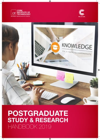 CIT Postgraduate Study & Research Handbook by Cork Institute