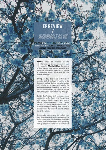 Page 11 of EP Review / Midnight Blue by Luís