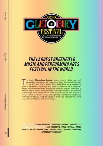 Page 14 of Glastonbury Festival 2019