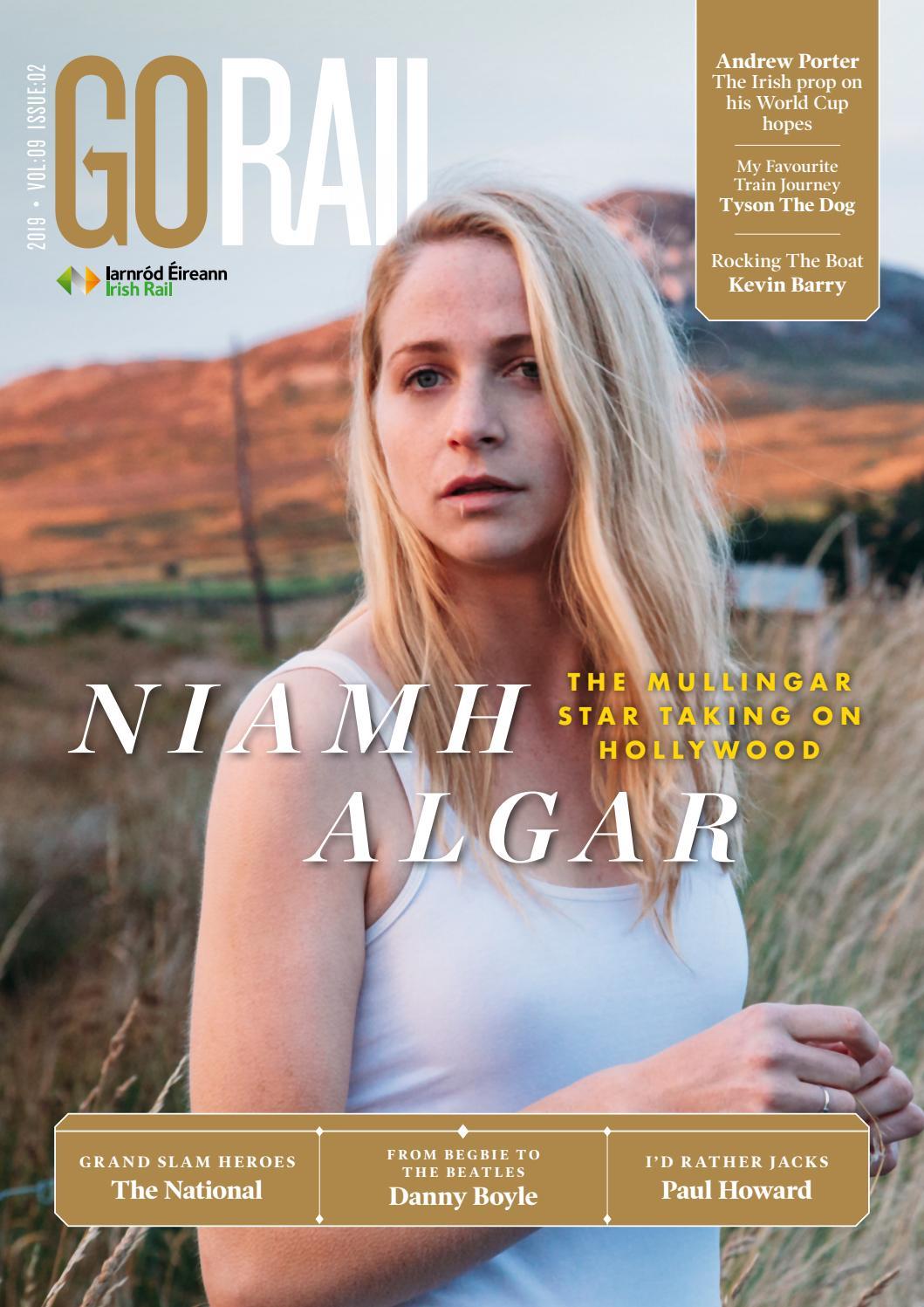 Go Rail 9-2: Featuring Niamh Algar by Hot Press Publishing