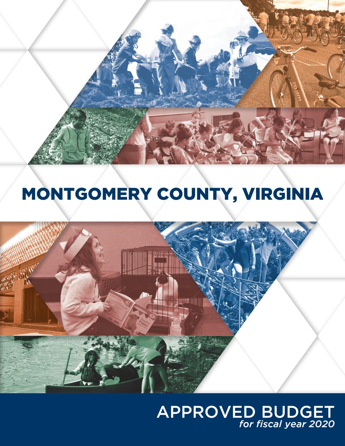 Spring Break 2020 Mcps.Montgomery County Va Fy 20 Approved Budget By Montgomery