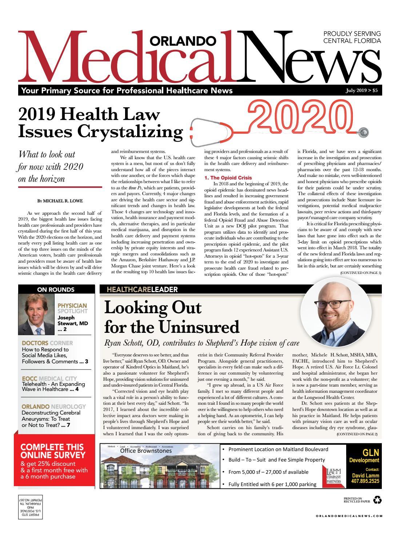 Orlando Medical News July 2019 by Orlando Medical News - issuu