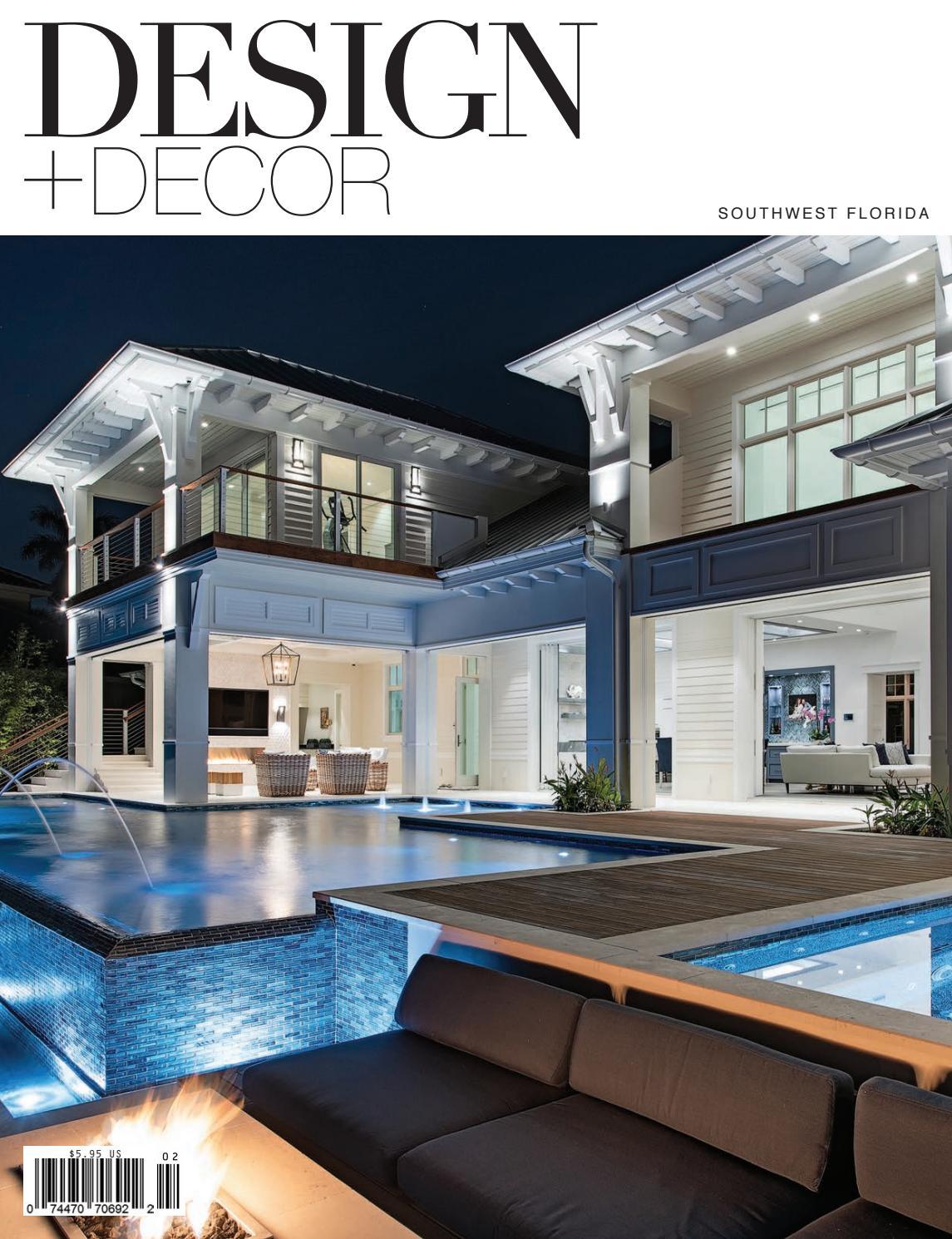 Design Decor Spring 2019 Southwest Florida By East Coast Home Publishing Issuu