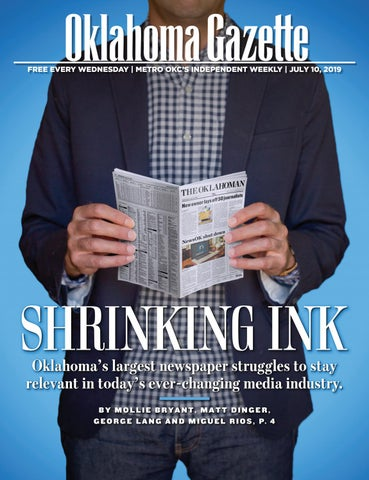 Shrinking ink by Oklahoma Gazette - issuu