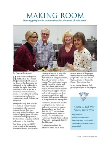 Page 3 of Making Room: Housing ministry stretches volunteers