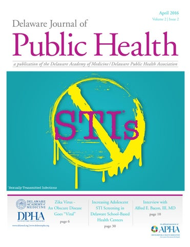 Delaware Journal of Public Health - April 2016 by Delaware Academy