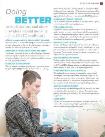 Page 9 of 10 Queer Things To Look for in a Doctor's Office or Provider