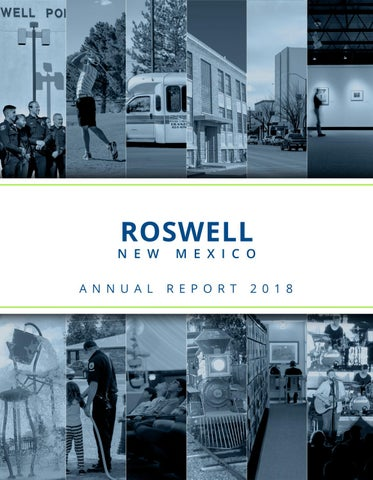 Roswell Recycling Center >> City Of Roswell 2018 Annual Report By City Of Roswell