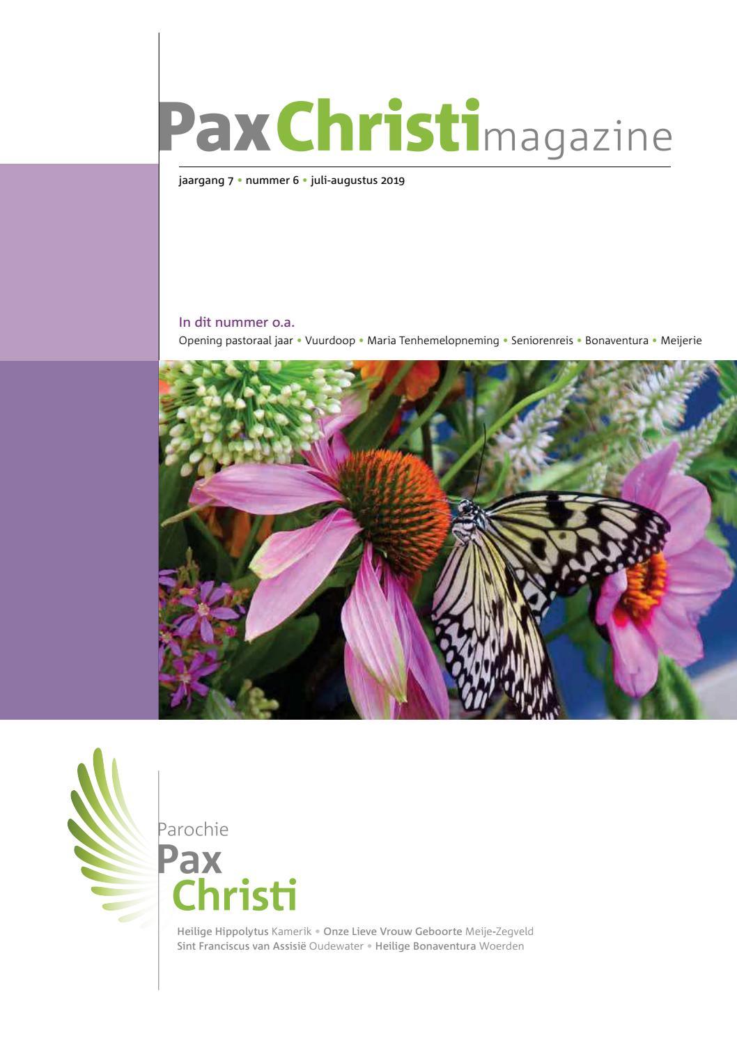 190704 Pax Christi Parochiemagazine By Peter Zijdemans Issuu