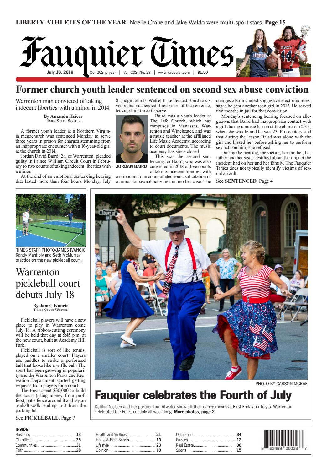 Fauquier Times 07 10 19 By Fauquier Times 52 Issues Prince William Times 52 Issues Issuu