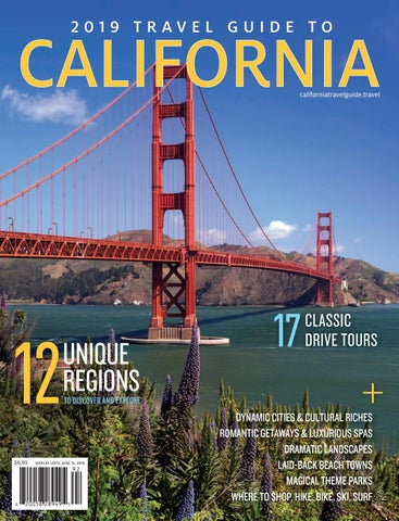 2019 TRAVEL GUIDE TO CALIFORNIA by Globelite Travel