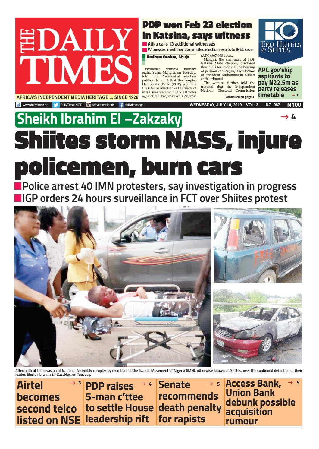 DTN-10-7-19 by Dailytimes - issuu