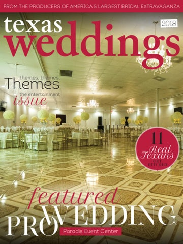 Paradis Event Center on Texas Weddings by Bridal