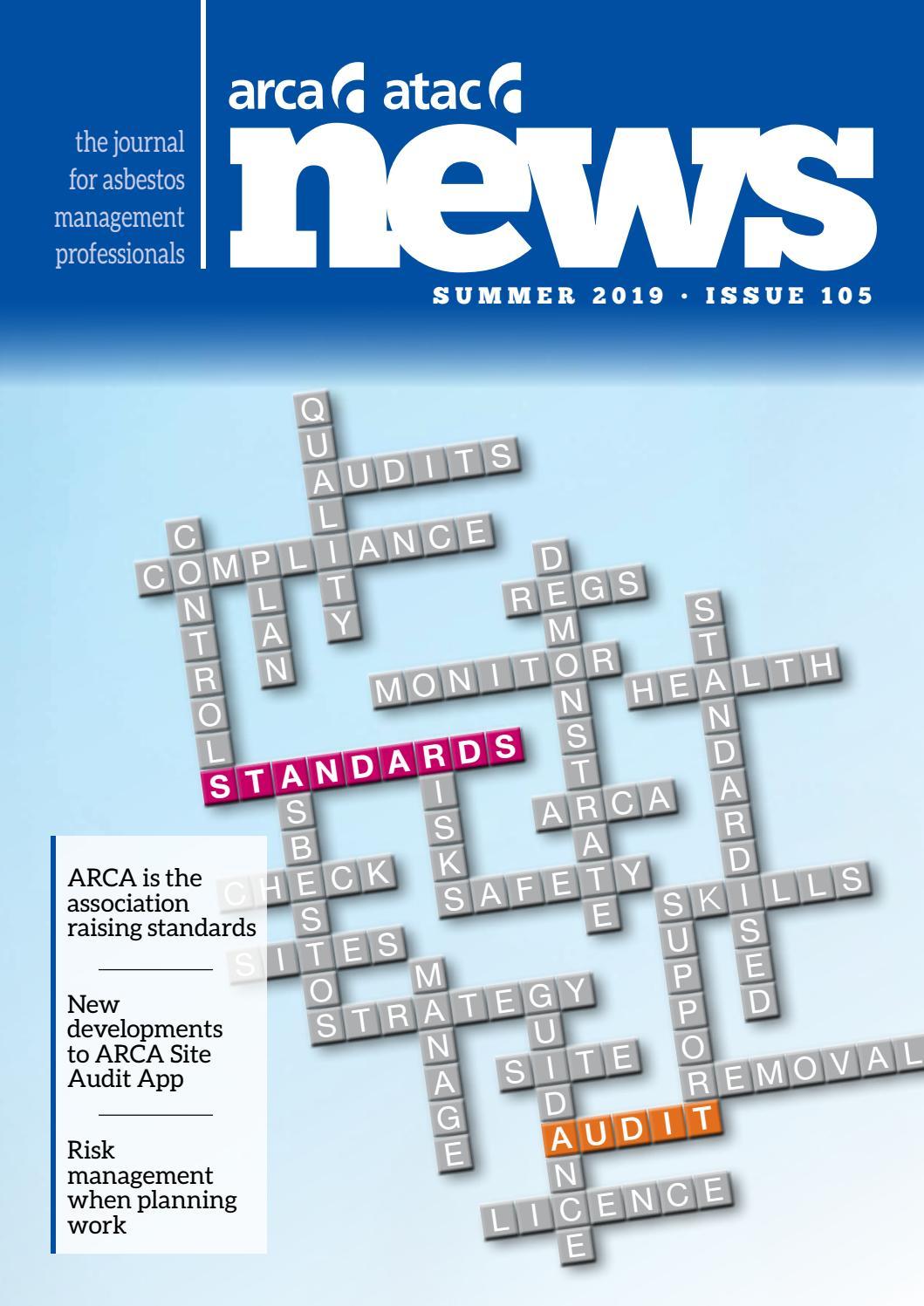 ARCA News Issue 105 Summer 2019 by Steve Sadley - issuu