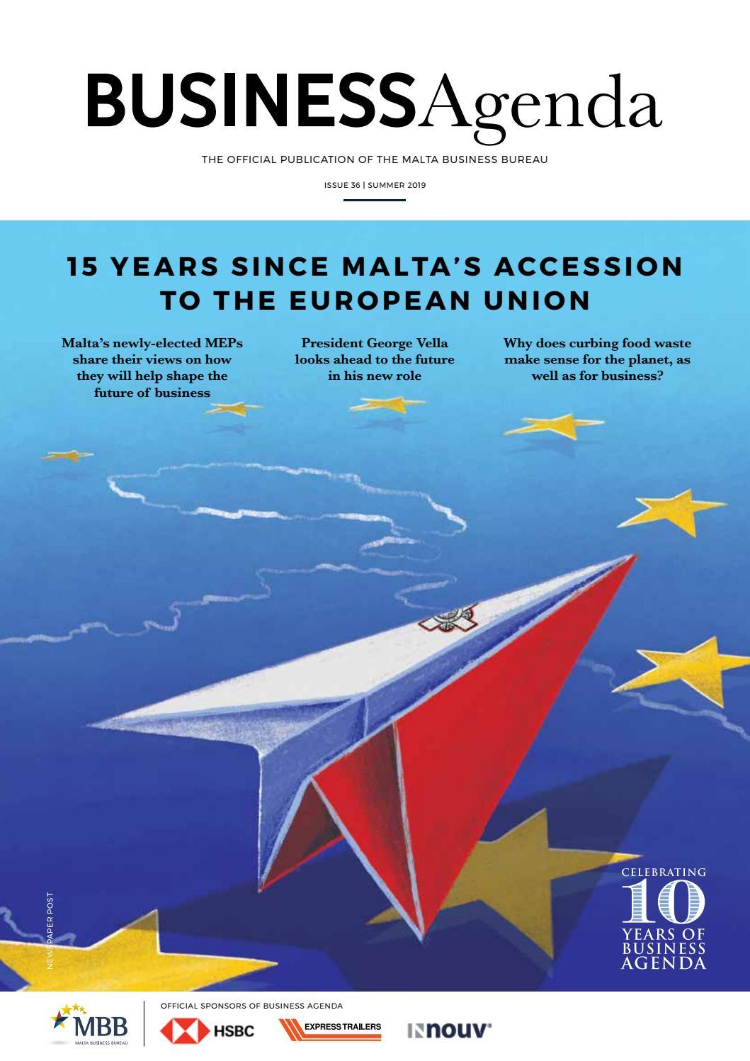 Business Agenda Issue 36 by Malta Business Bureau - issuu