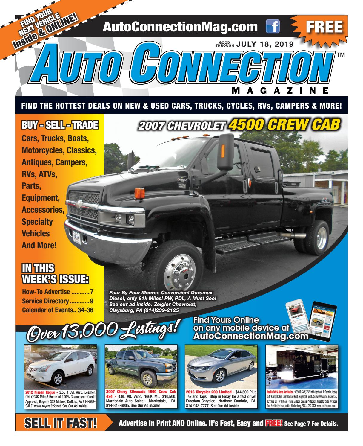 07-18-19 Auto Connection Magazine by Auto Locator and Auto