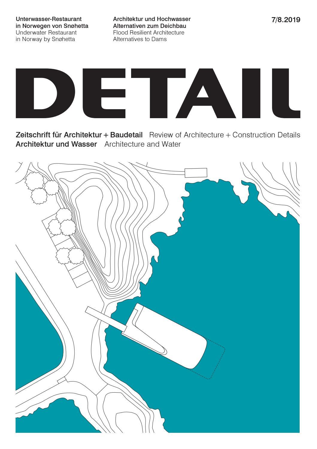 DETAIL 8 8/8   Architektur und Wasser / Architecture and Water ...