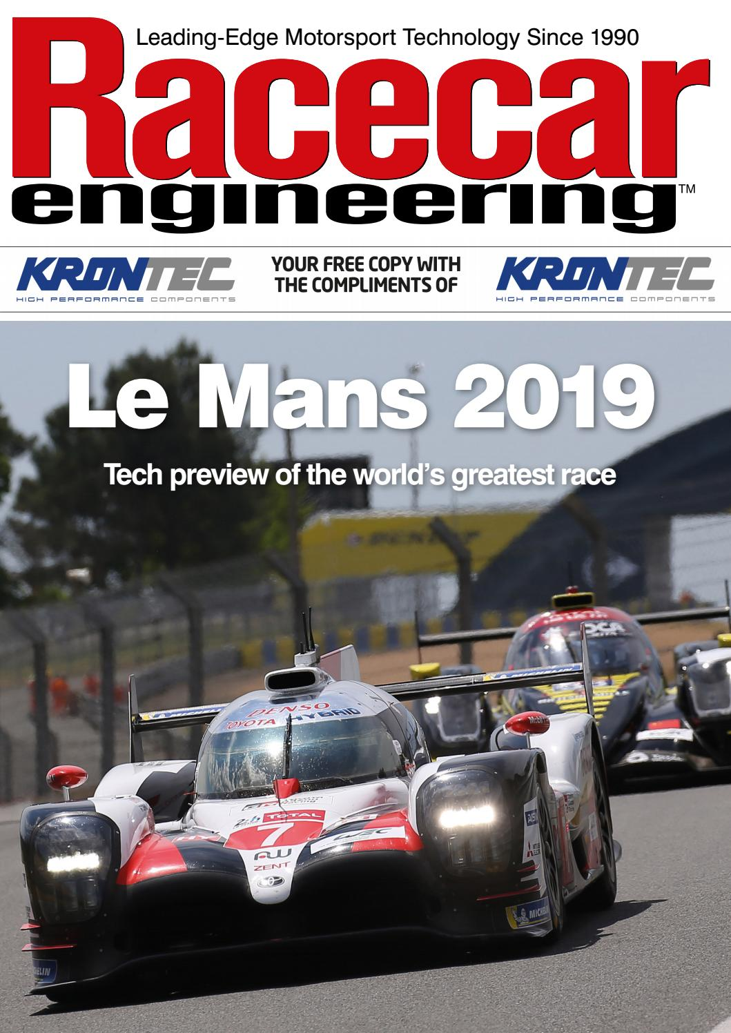 Racecar Engineering Le Mans 2019 by The Chelsea Magazine