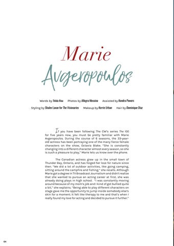 Page 64 of Marie Avgeropoulos