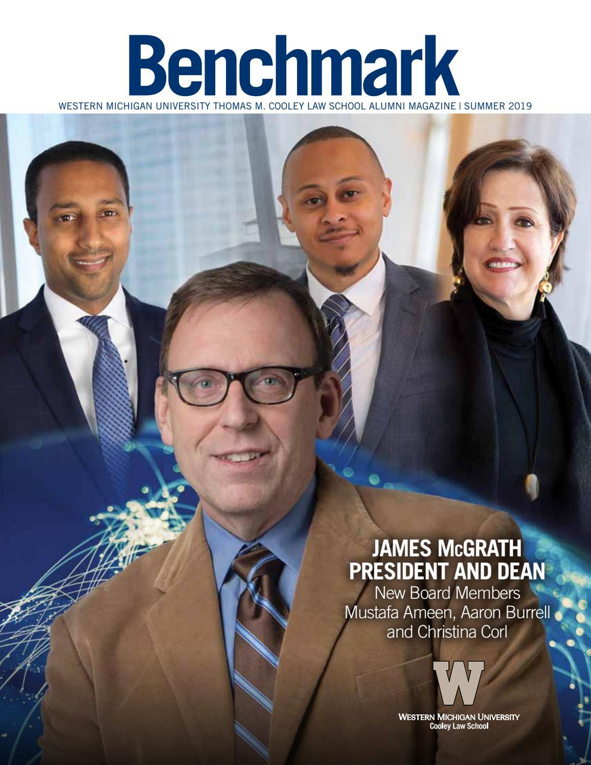 Benchmark | Summer 2019 by WMU Cooley Law School - issuu
