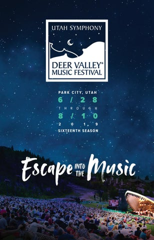 Deer Valley Music Festival by Mills Publishing Inc  - issuu