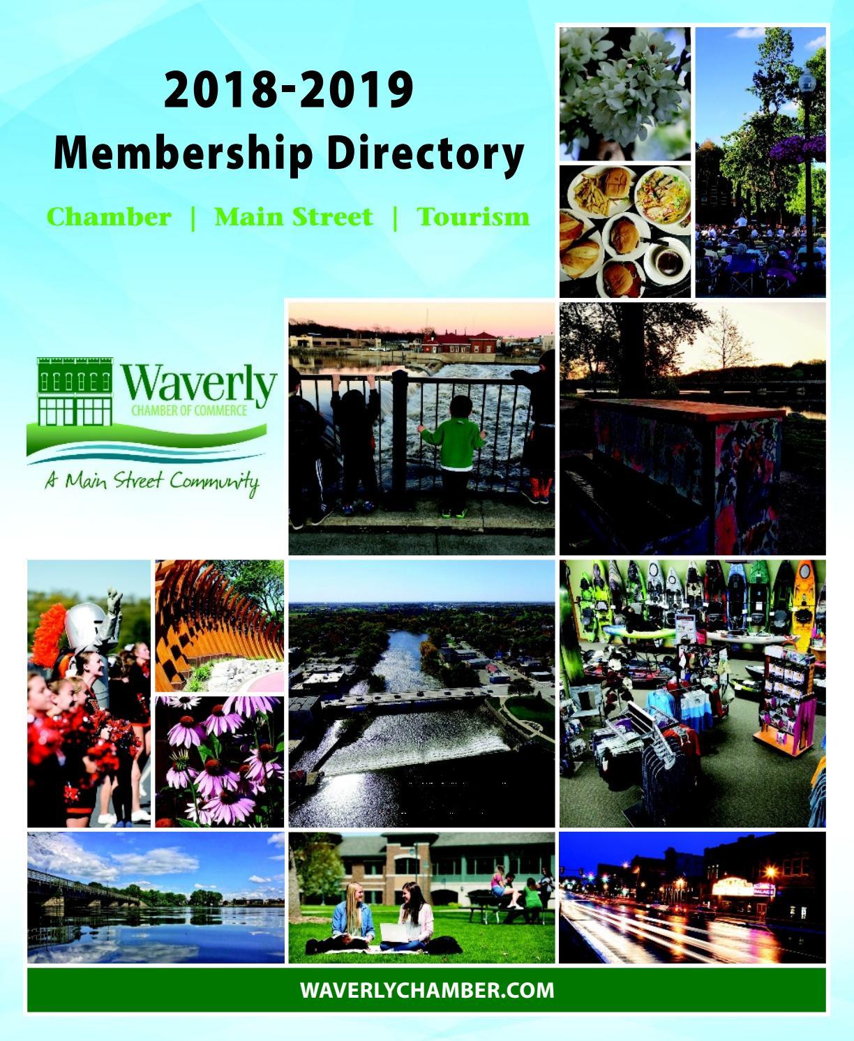 Waverly Chamber Membership Directory 2018-2019 by Waterloo