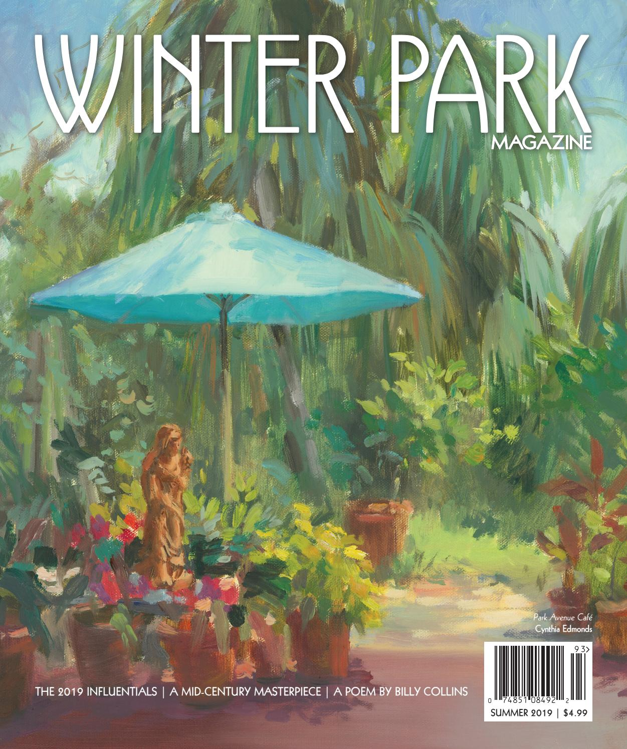 Winter Park Magazine Summer 2019 by Winter Park Publishing Company