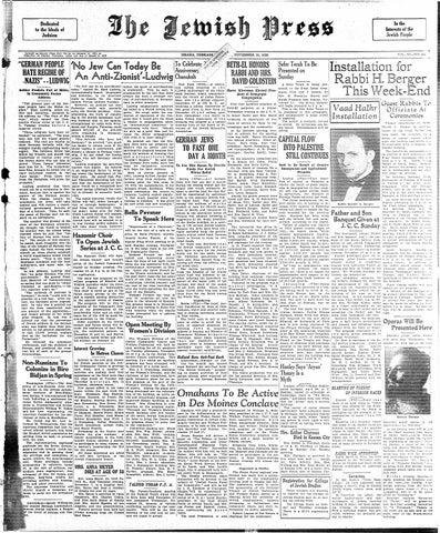 November 15 1935 By Jewish Press Issuu