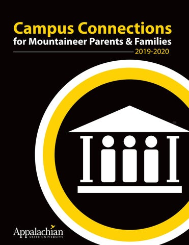 Parent Connections 2019 20 By Appalachian State University