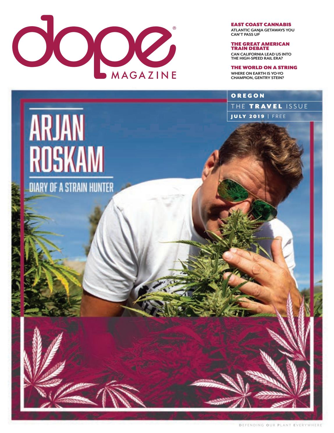 DOPE Magazine - Oregon - The Travel Issue - July 2019 by