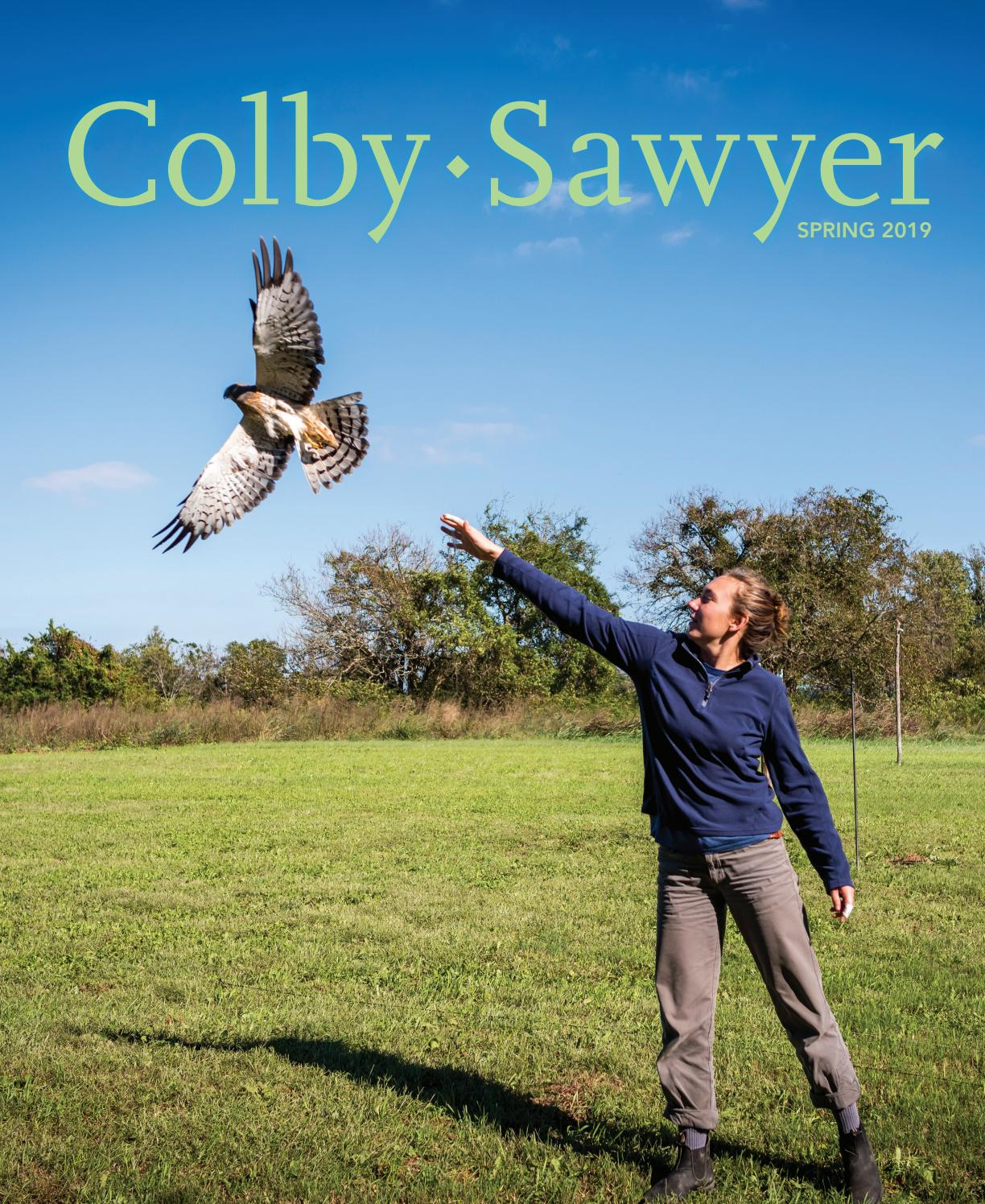 Colby-Sawyer Magazine Spring 2019 by Colby-Sawyer College