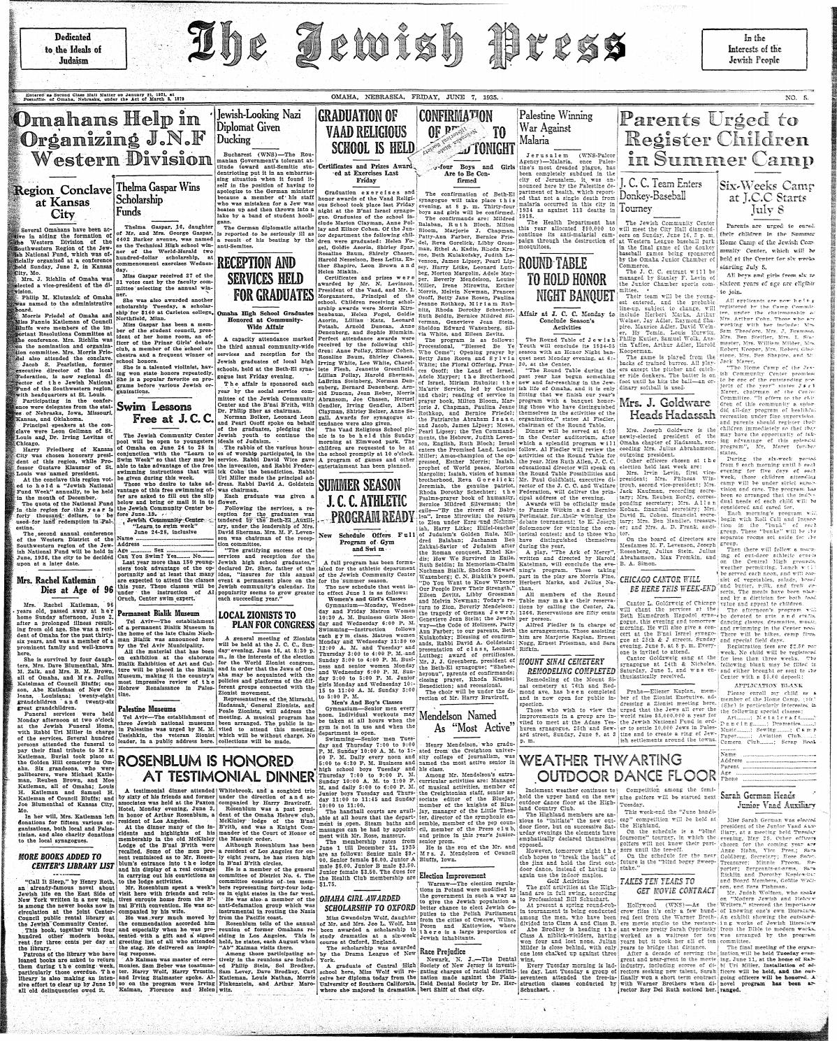 June 7, 1935 by Jewish Press - issuu