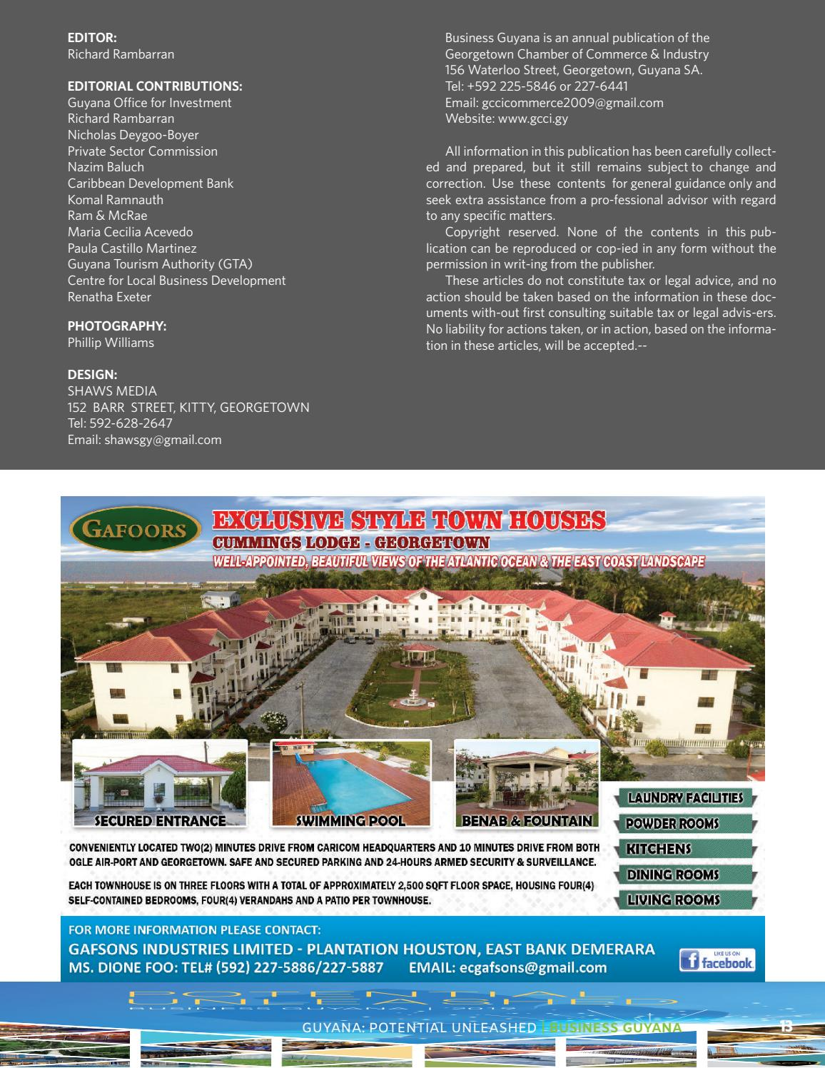Business Guyana 2019 by GxMedia - issuu