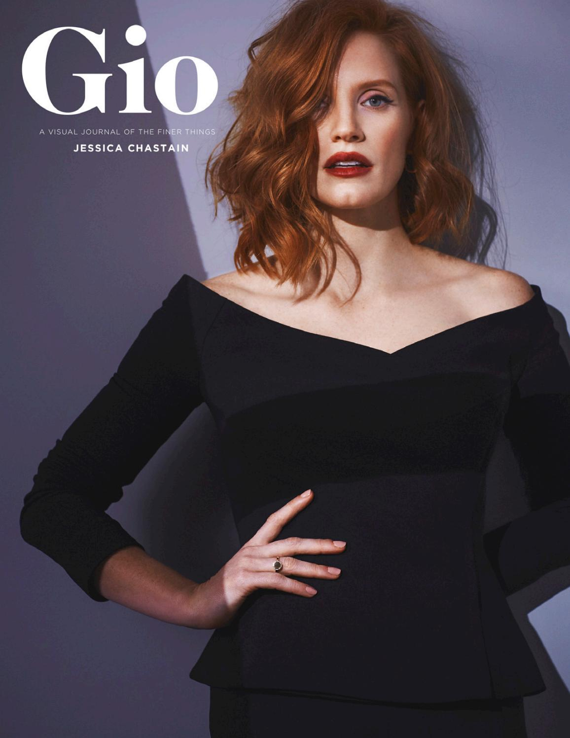 Gio Journal Issue 5 Jessica Chastain by giojournal issuu